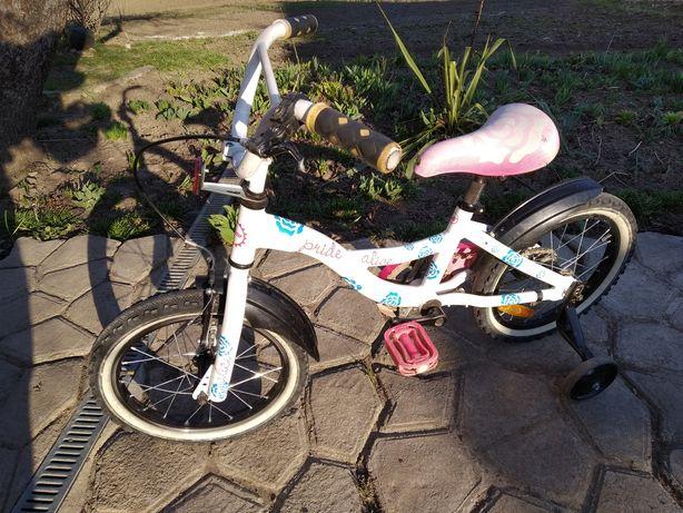 Велосипед для дівчинки 4-6 років
