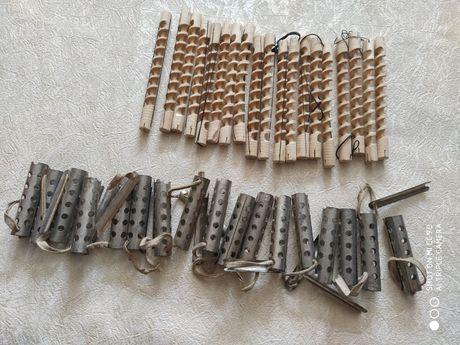 Бигуди металические для завивки и деревянные