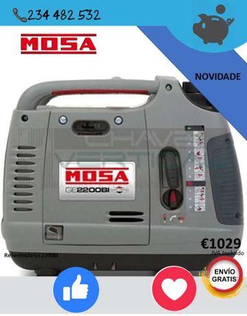 Gerador MOSA Briggs&Stratton com Arranque Manual GASOLINA NOVIDADE