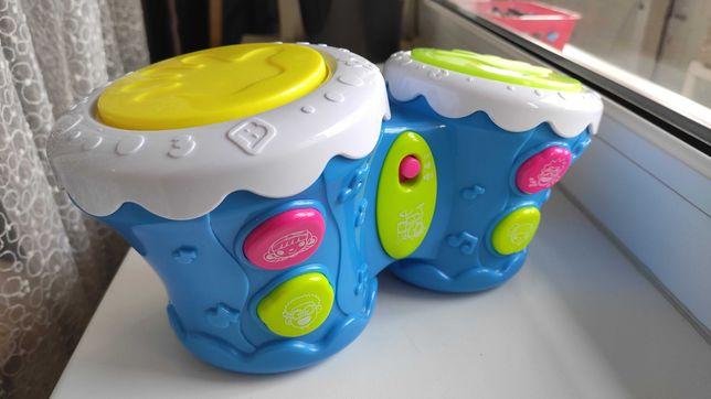 Барабаны Бонго, BeBeLino (синий)