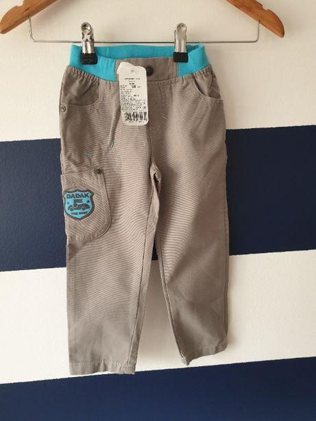 Spodnie chłopięce na wiosnę Nowe 100% bawełna rozmiar 98