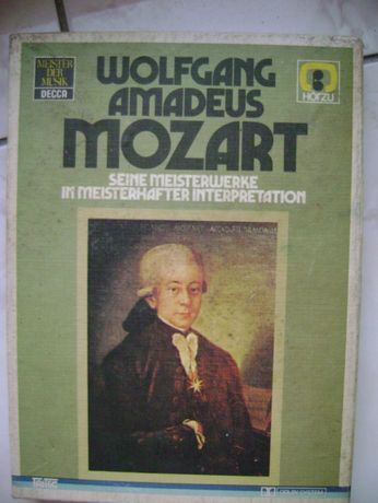 Wolfgang Amadeus MOZART 2 kasety