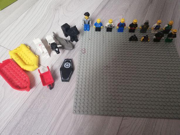 Stare Figurki Lego+akcesoria i zwierzęta
