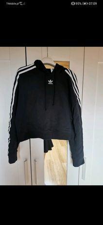 Bluza adidas cropped hoodie