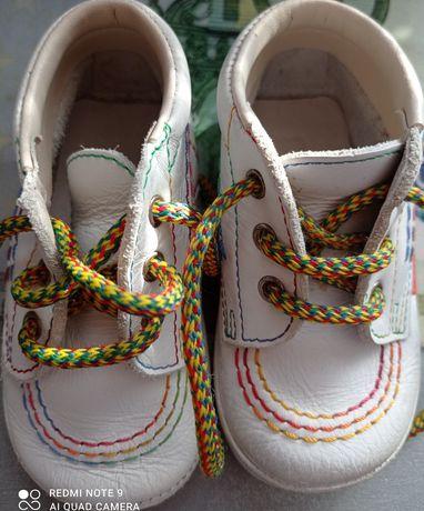 Дитячі ортопедичні шкіряні ботиночки
