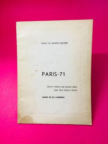 Paris-71 - Vasco de Barros Queiroz