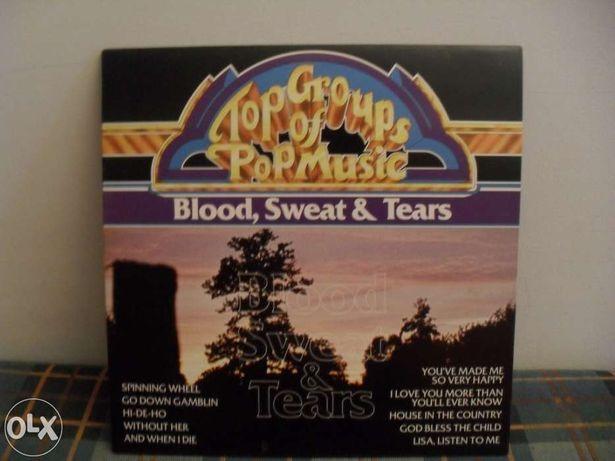Blood, Sweat & Tears - top groups of pop music - lp - vinil