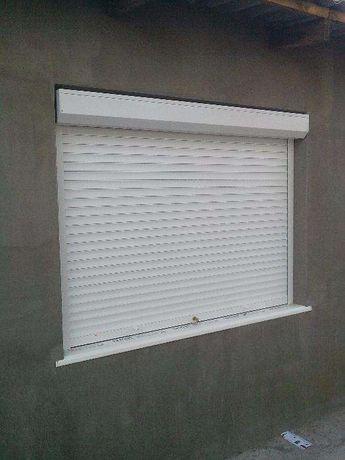 Ролеты защитные на окна и двери в Николаеве. Гаражные ролетные ворота.