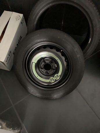 Jante e pneu suplente mercedes nova nunca usada