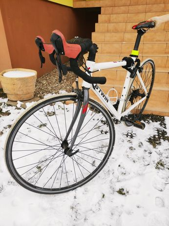 Rower szosowy kolażówka B'Twin Triban + zabezpieczenie Merida