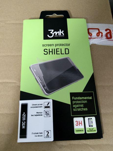 3MK HTC u12+ folia, szkło na wyświetlacz -> Dwie sztuki