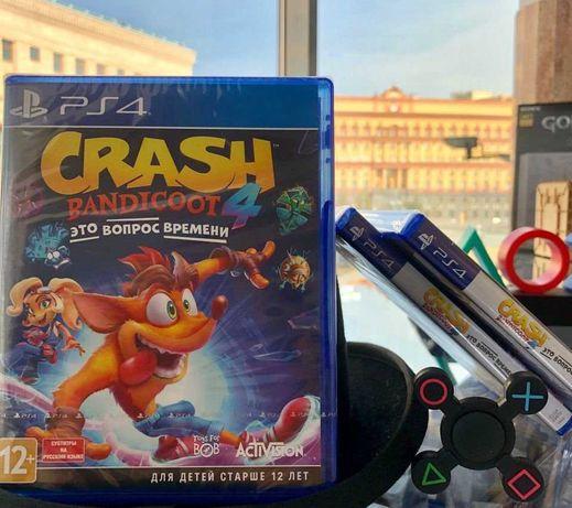 Краш 4 Время пришло Crash Bandicoot™ 4: It's About Time (PS4 и PS5)