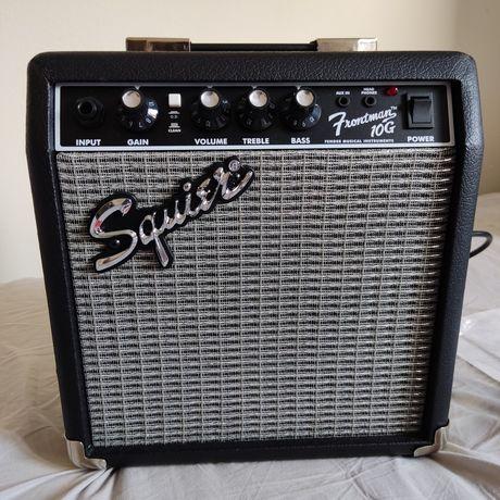 Amplificador Frontman 10G e cartão Fenderplay