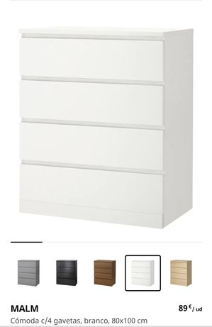 Cómoda Malm Ikea