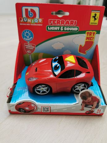 Nowe auto Ferrari light & sound