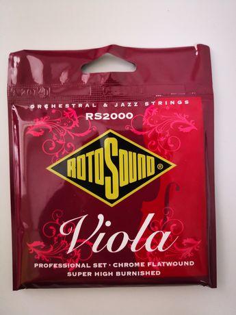 Jogo de CORDAS Viola ROTO SOUND Rs2000 Orchestral & Jazz