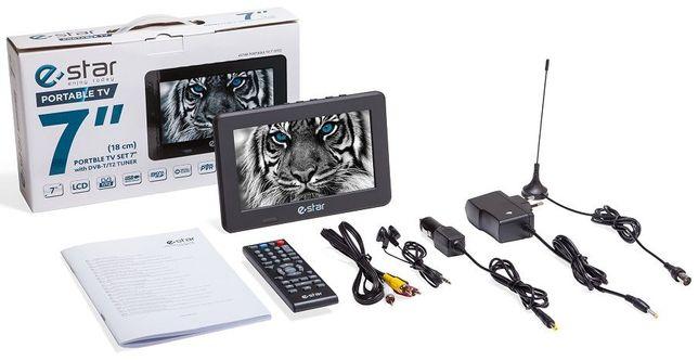 TV portátil com TDT a muito bom preço com antena amplificada incluida.