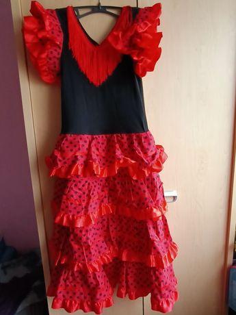 Sukienka, przebranie karnawałowe, cyganka