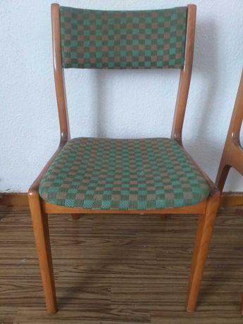 Krzesło tapicerowane Aster prl