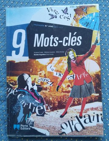 """Mots-clés Francês 9ºAno"" Manual inclui Autocolantes/Anexo Gramatical"