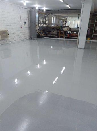 Полимерные полы. Обеспыливание бетона.