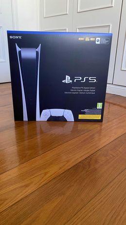PS5 Consola Playstation 5 Digital - Nova/Selada - c/ Garantia