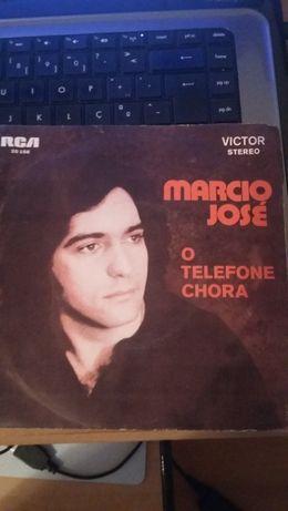 Vinil - Márcio José- O telefone chora