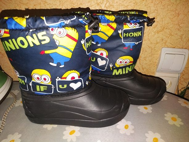Сноубутсы, зимние ботинки
