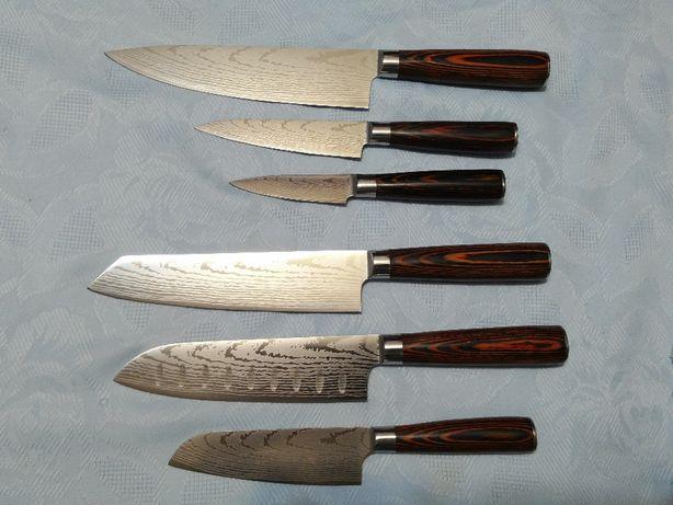 Кухонные Ножи (Американская Сталь 440С, 58-60 HRC твердости)