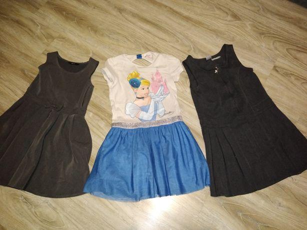 Sukienki dziewczęce 4-6 lat