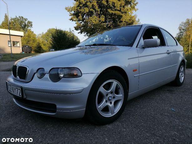 BMW Seria 3 BMW 3 e46 compact 1.8ben 115km 2001r 1właścicel...