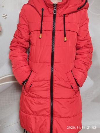 зимнее пальто ниже колена