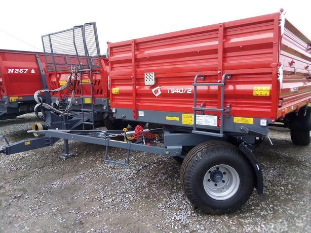 Przyczepa rolnicza paletowa T940/2 Metal-Fach