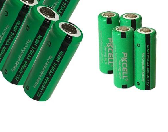 2/3 aaa батарея ni-mh 400mah 1,2 v, аккумулятор размера 2/3 ааа
