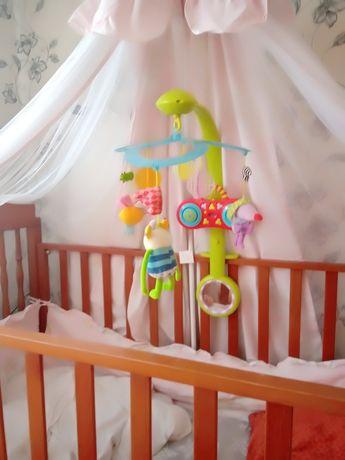 Детская карусель мобиль на кроватку.
