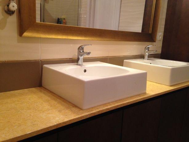 Столешницы для ванных комнат из гранита и мрамора