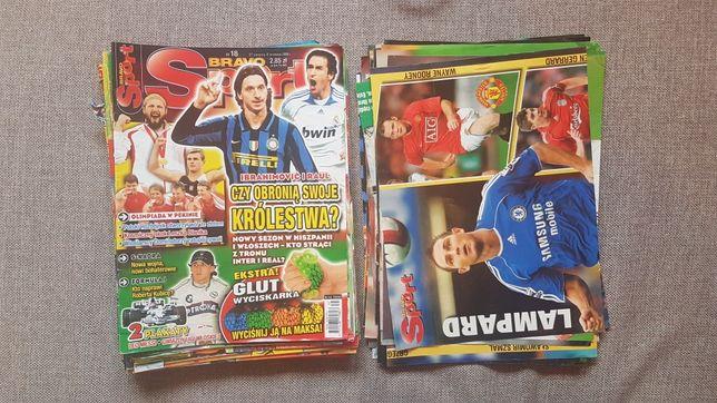 Bravo sport+plakaty z lat od 2008 do 2011