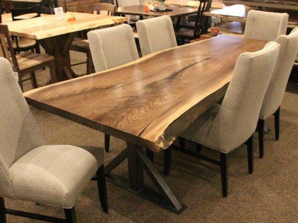 Столы под индивидуальный заказ из массива дерева. Мебель в стиле LOFT