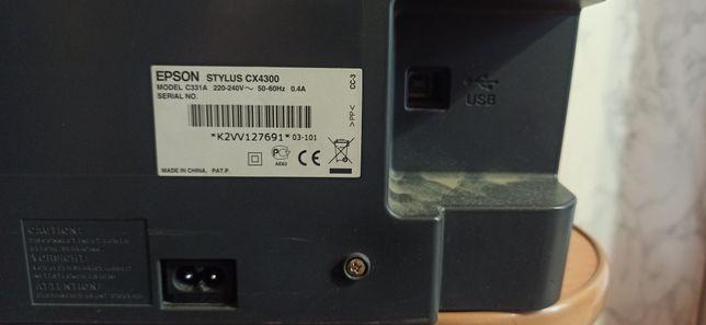 МФУ epson стилус cx4300