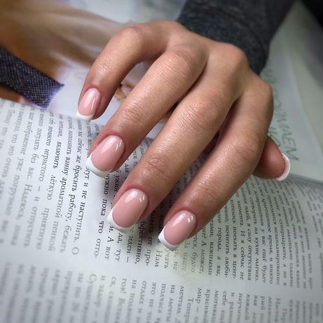799! Наращивание ногтей, маникюр, м. Голосеевская, выезд на дом