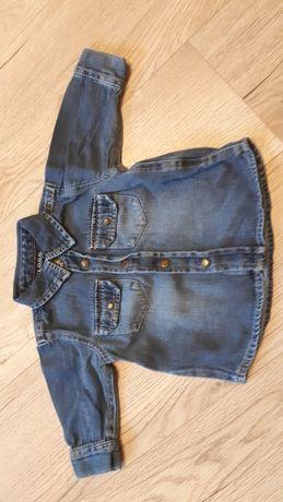 Koszula chłopięca dżinsowa marki h&m rozmiar 68