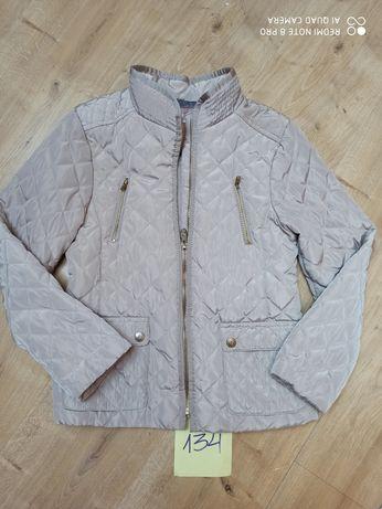 Kurtka przejściówka Zara dla dziewczynki r 134