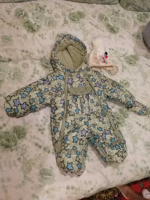Комбинезон детский, зимний Донецк - изображение 1