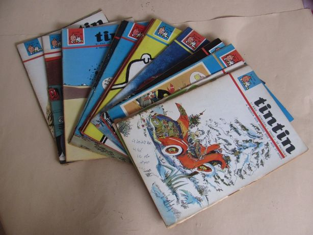 Revistas TINTIN