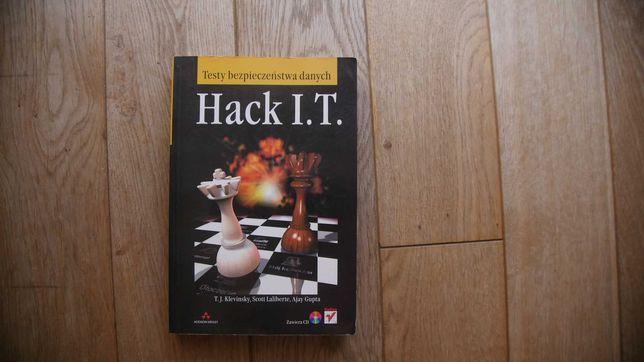 Testy bezpieczeństwa danych Hack I.T.- Klevinsky,Laliberte,Gupta