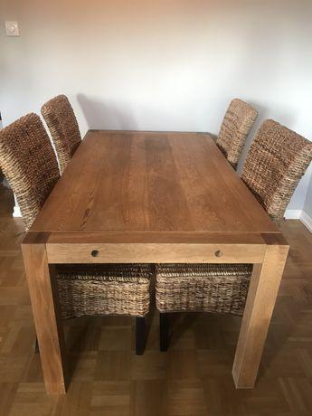 Stol z 4 krzeslami