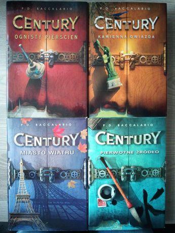 P.D.Baccalario Century część 1-4
