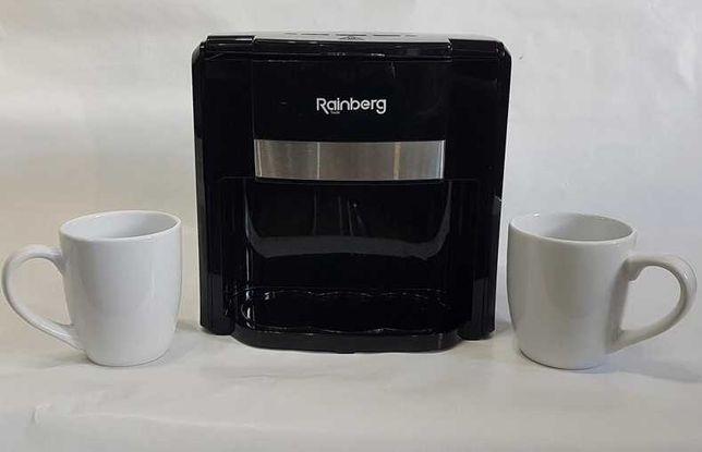 Rainberg 500Вт, Новая Кофеварка на две чашки . Капельная