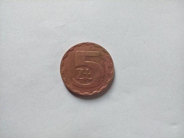 Moneta 5 zł 1987 r.