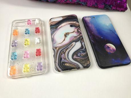 Чехол  на iphone 7 + plus , 8 + plus айфон плюс бампер силиконовый